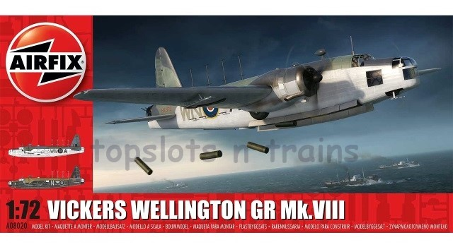Airfix A08020 1/72 Scale Model Kit - VICKERS WELLINGTON GR Mk-VIII