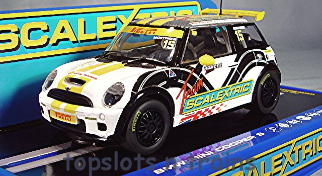 Scalextric C3400 - BMW MINI COOPER S TOURING CHALLENGE 2012 MORTIMER