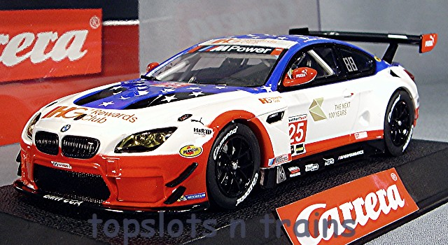 Carrera CA-27559 - BMW M6 GT3 TEAM RLL LE MANS BILL AUBERLEN 2016