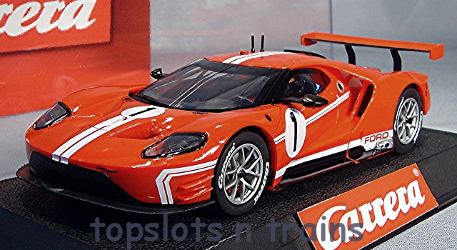 Carrera CA-27596 - FORD GT RACE CAR TIME TWIST NO 1