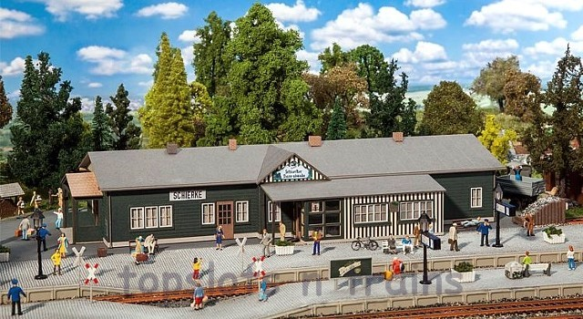 Faller 110136 OO/HO Scale Model Kit - SCHIERKE STATION