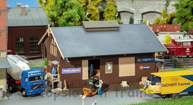 Faller 120095 OO/HO Scale Model Kit - GOODS SHED