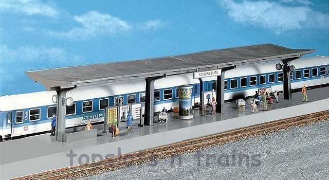 Faller 120201 OO/HO Scale Model Kit - PLATFORM - CAN COMBINE WITH 120200