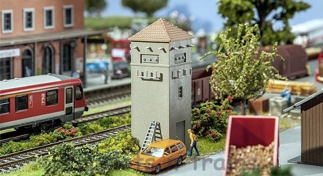 Faller 120261 OO/HO Scale Model Kit - SMALL TOWER-STYLE SUBSTATION
