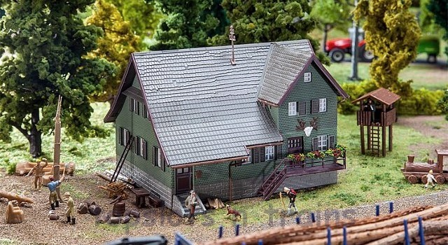 Faller 130519 OO/HO Scale Model Kit - FORESTERS LODGE