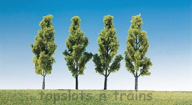 Faller 181423 OO/HO/N Scale Trees - 4 X BIRCH TREES - 90 mm