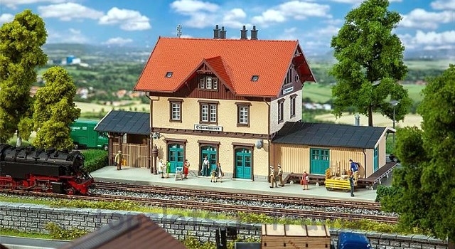 Faller 191742 OO/HO Scale Model Kit - OCHSENHAUSEN STATION
