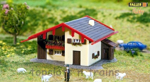 Faller 232538 N Scale Model Kit - HOBBY SERIES - MOUNTAIN CHALET