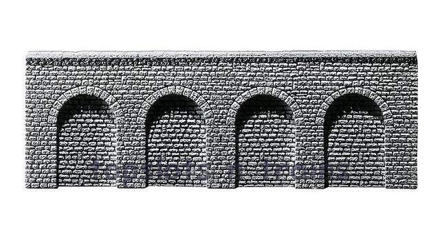Faller 272640 N Scale Decorative Panel - ARCADES - NATURAL STONE ASHLARS