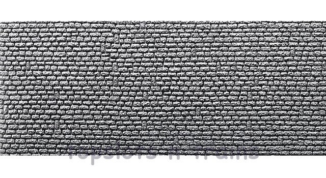 Faller 272650 N Scale Decorative Panel - 2 X STONE ASHLAR PANEL - 370 x 125 x 4 mm
