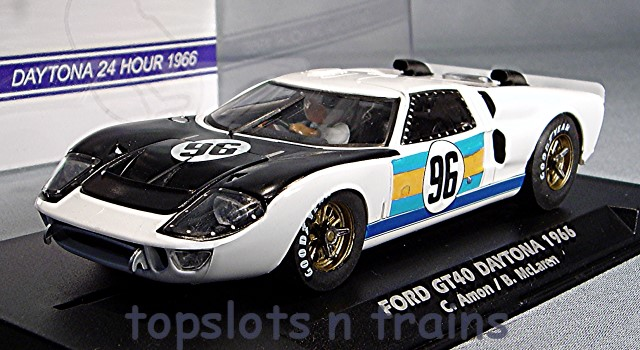 Fly-Car-Model A2014 - FORD GT40 MKII DAYTONA 1966 AMON MCLAREN