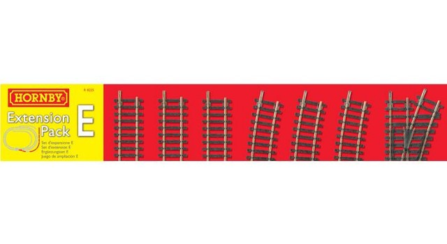 Hornby R8225 - HORNBY TRACK EXTENSION PACK E