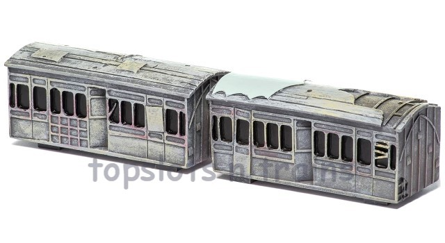 Hornby R9790 Skaledale - DERELICT COACHES - PACK OF 2