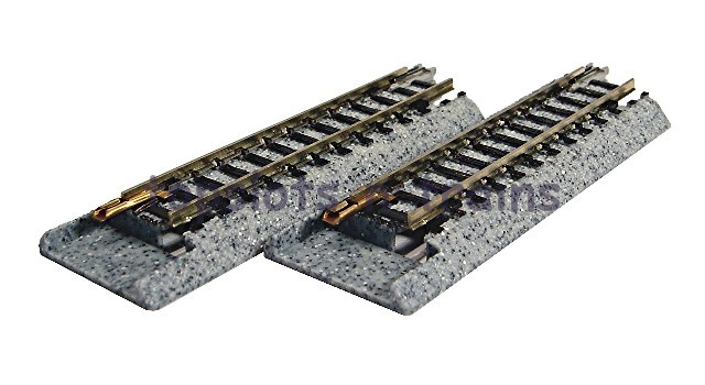 Kato 20-045 N Gauge - S62J BALLASTED UNITRACK CONVERSION STRAIGHTS 62MM
