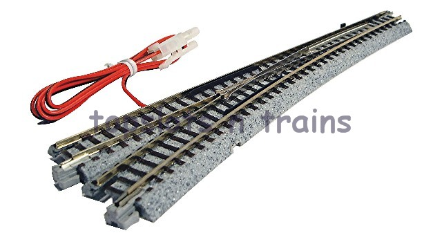 Kato 20-202 N Gauge - UNITRACK LEFT HAND ELECTRICAL TURNOUT - POINT 6