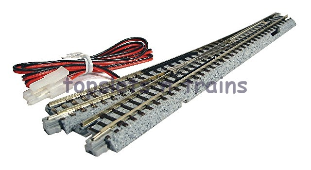 Kato 20-203 N Gauge - UNITRACK RIGHT HAND ELECTRICAL TURNOUT - POINT 6