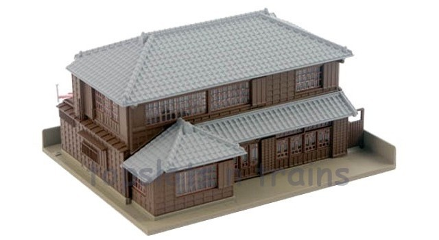 Kato 23-482 N Scale Dio-Town - 2 STOREY DIO-TOWN HIP ROOF HOUSE 1 - READY BUILT