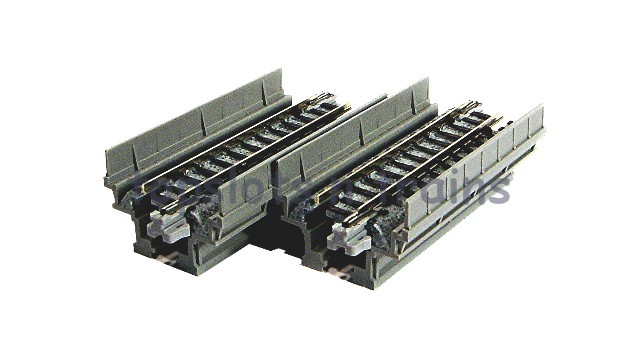 Kato 20-440 N Gauge - S62V VIADUCT ELEVATED UNI-TRACK STRAIGHTS 62MM
