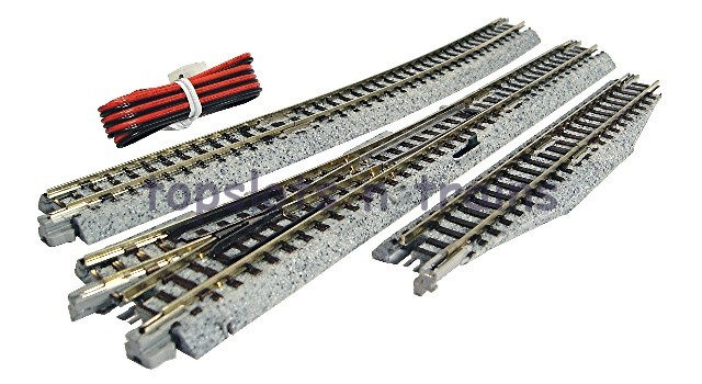 Kato 20-221 N Gauge - UNITRACK RIGHT HAND ELECTRICAL TURNOUT - POINT 4