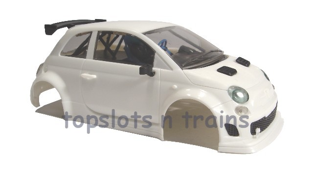 Nsr 1363 - ABARTH 500 WHITE 1/32 BODY KIT