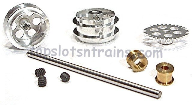 Nsr 4014 - PROSLOT SIDEWINDER REAR AXLE KIT LARGE