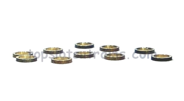 Nsr 4812 - 3/32 AXLE SPACERS 0.5MM