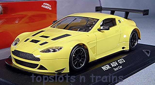 Nsr 1166-AW-ASV - ASTON MARTIN V12 GT3 VANTAGE TEST CAR YELLOW