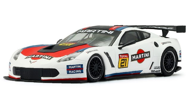 Nsr-0159-AW - CORVETTE C7R STINGRAY MARTINI RACING NO 21 WHITE