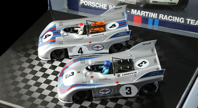 Nsr-SET10 Limited Edition - PORSCHE 908/3 NURBURGRING 1971 MARTINI RACING