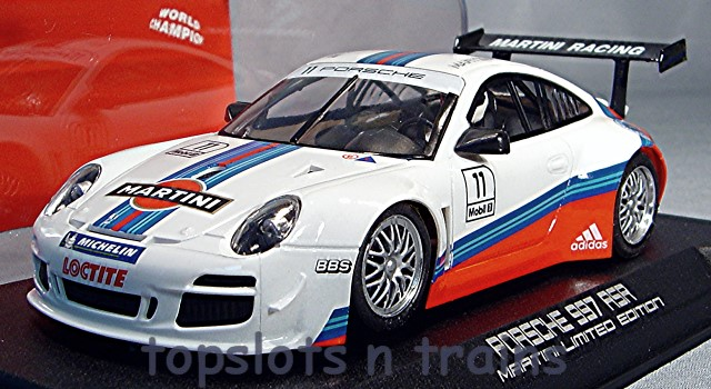 Nsr-0088-AW - PORSCHE 997 MARTINI RACING WHITE NO 11