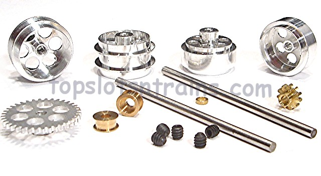 Nsr 4216 - SIDEWINDER FRONT + REAR AXLE KIT FLY