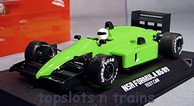 Nsr-0161 - FORMULA ONE F1 1980S GREEN TEST CAR