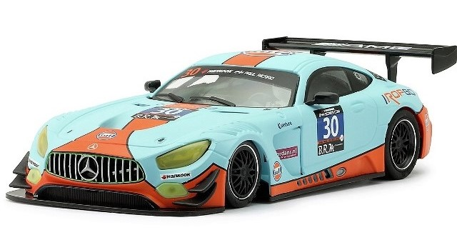Nsr-0153-AW - MERCEDES AMG GT3 GULF RAM RACING ONSLOW-COLE