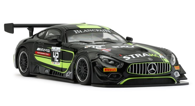 Nsr-0134-AW - MERCEDES AMG GT3 STRAKKA RACING YELLOW NO42
