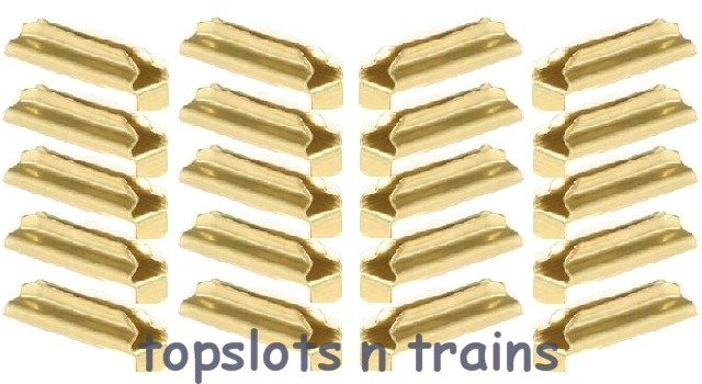 Piko 35290 - BRASS RAIL JOINERS