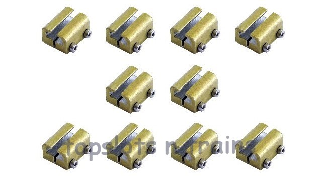 Piko 35294 G Scale - RAIL CLAMPS X 10 TRACK JOINERS - OVER FISHPLATES