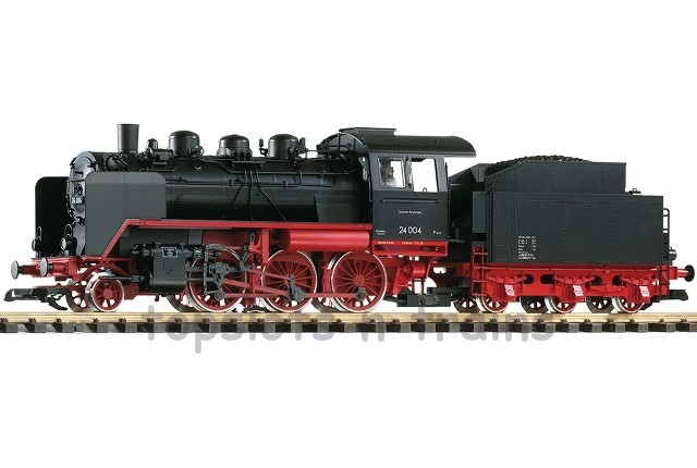 Piko 37222 G Scale - DR BR-24 STEAM LOCOMOTIVE III - ANALOGUE SMOKE