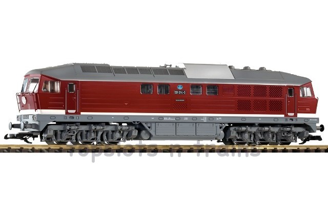 Piko 37582 G Scale - DR BR-131 DIESEL LOCOMOTIVE IV