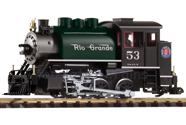 Piko 38202 G Scale - D-RGW 0-6-0T SADDLE TANK STEAM LOCOMOTIVE