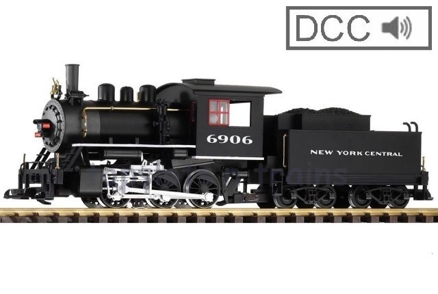 Piko 38211 G Scale DCC / Digital Sound - NEW YORK CENTRAL NYC 0-6-0 STEAM LOCOMOTIVE