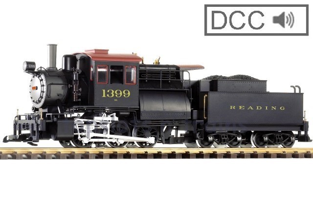 Piko 38240 G Scale DCC / Digital Sound - READING RDG 1399 CAMELBACK STEAM LOCOMOTIVE