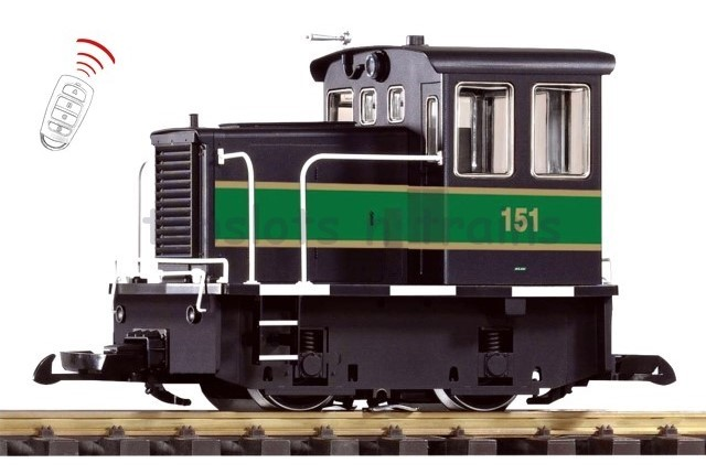 Piko 38507 G Scale RC - KLW THUMPER GE 25t DIESEL LOCO - BATTERY POWER R/C