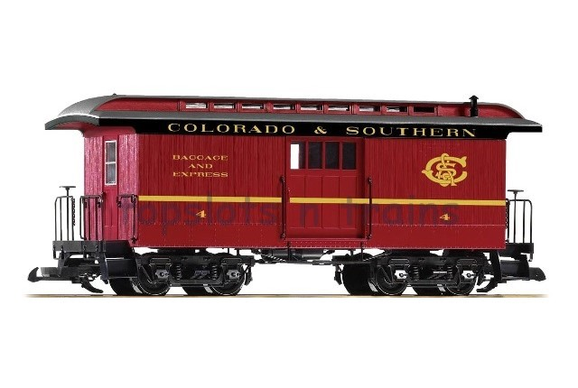 Piko 38647 G Scale - COLORADO AND SOUTHERN WOOD BAGGAGE CAR - 4