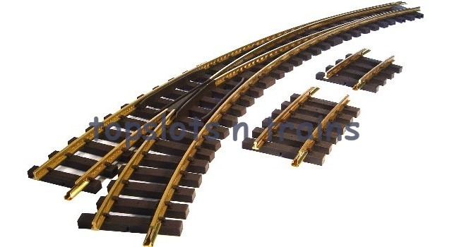 Piko 35224 - G SCALE TRACK LEFT HAND CURVED POINT G-BWL R3