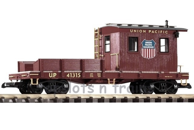 Piko 38730 G Scale - UNION PACIFIC WORK CABOOSE - UP 41315