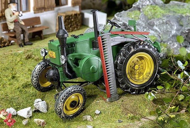 Pola 331901 G Scale - LANZ TRACTOR WITH MOWER KIT - LIMITED EDITION
