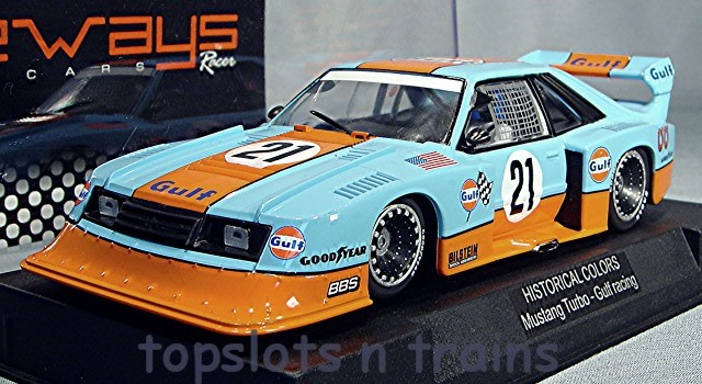 Racer Sideways SW-HC05 Limited Edition - FORD MUSTANG LTD GULF SPECIAL EDITION