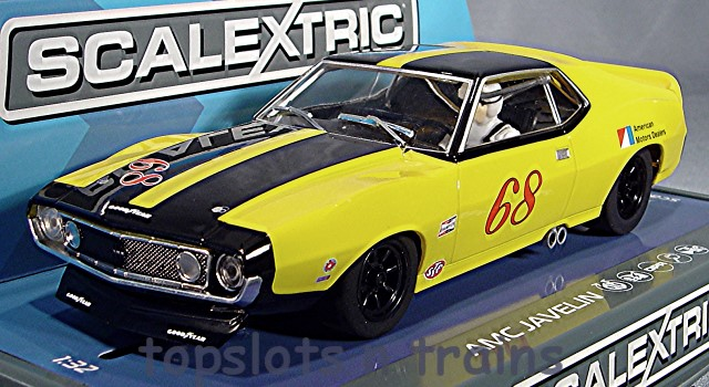 Scalextric C3921 - AMC JAVELIN TRANS AM 1971 NO 68