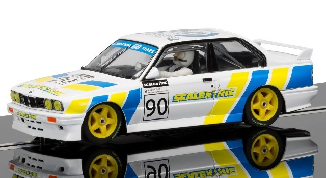 Scalextric C3829A Limited Edition - BMW M3 E30 60TH ANNIVERSARY CAR 1990s