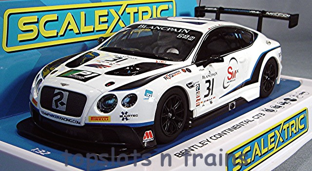 Scalextric C4024 - BENTLEY CONTINENTAL GT3 TEAM PARKER BRANDS HATCH
